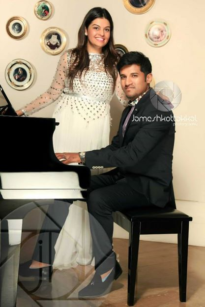 Vijay Yesudas and wife