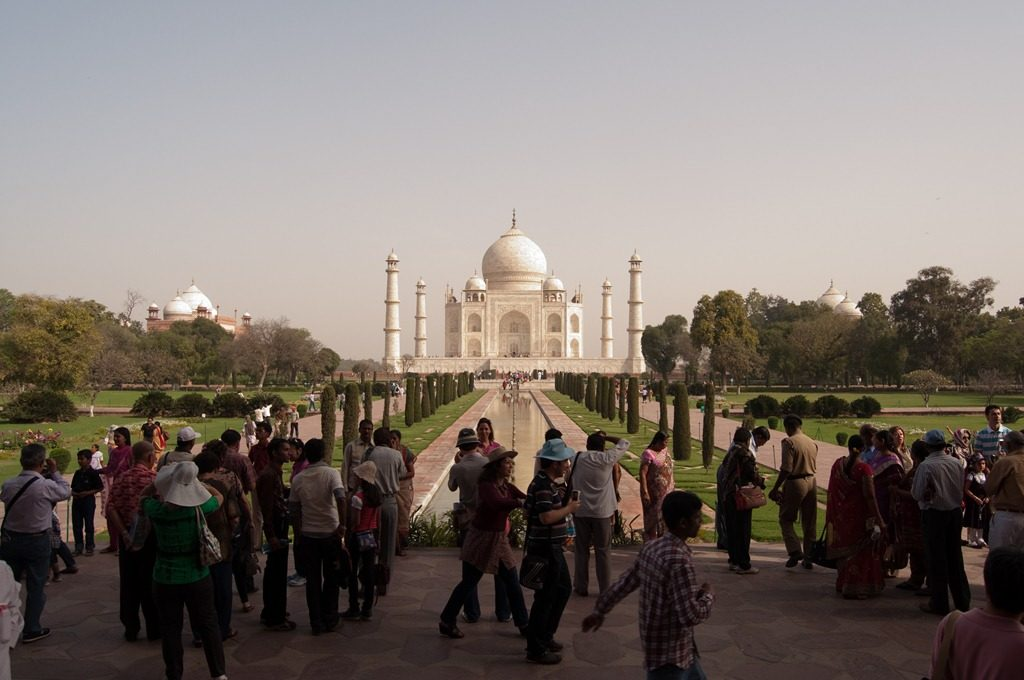 Taj Mahal built by Shahjahan